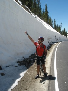 Deep Snow on Trail Ridge Road