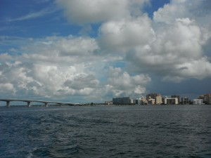 View of Sarasota from the Bay