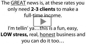 You Only Need 2-3 Clients!