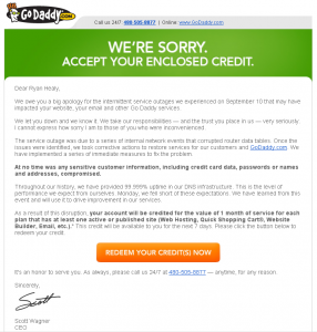 GoDaddy Apology Email 286x300 GoDaddys Apology Email