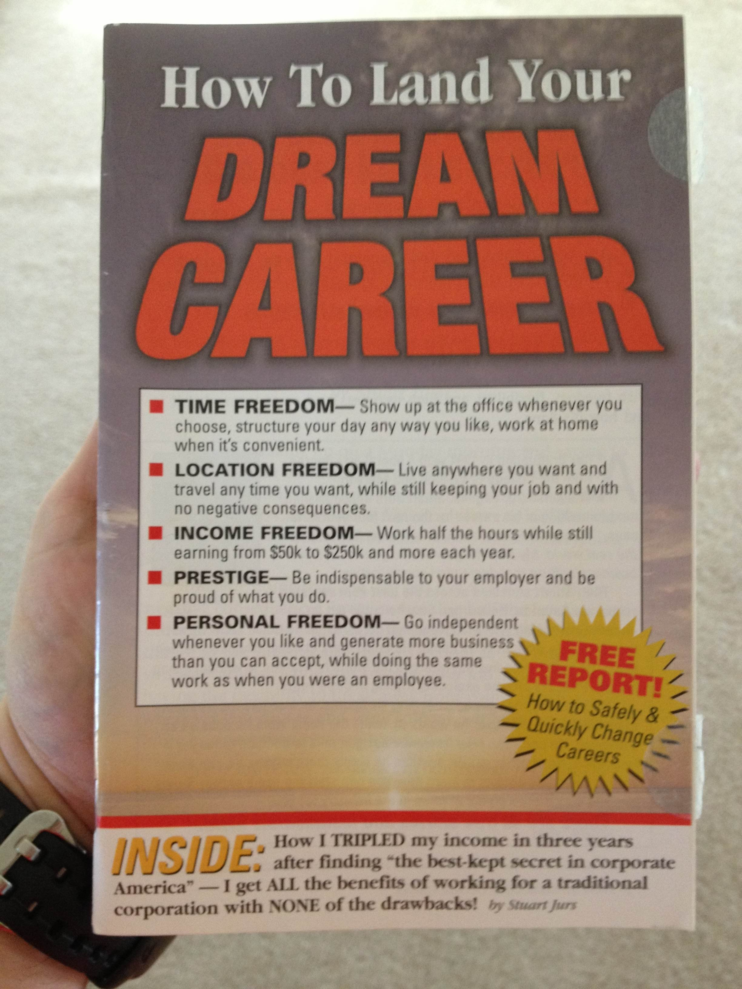 How to Land Your Dream Career Magalog
