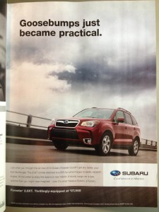 subaru goosebumps e1372696800394 225x300 This Subaru Ad Is So Horrific It Gave Me Goosebumps