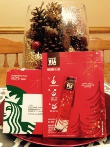 Starbucks Via Mailer